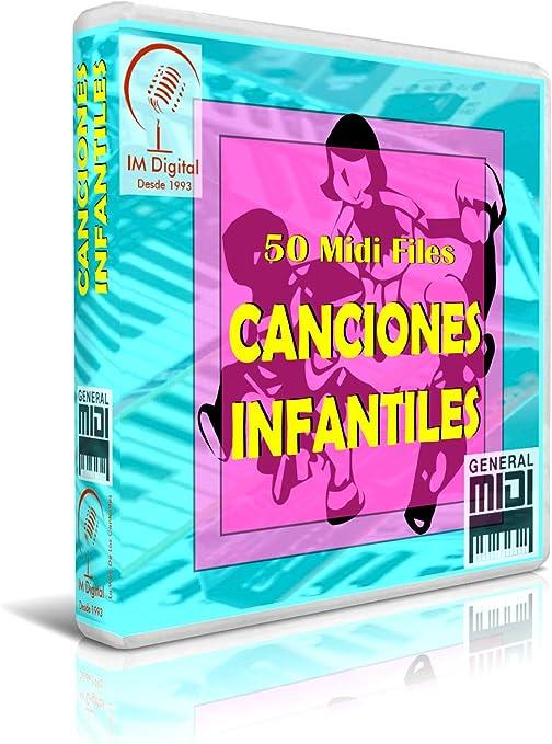 Canciones Infantiles - Pendrive USB OTG para Teclados Midi ...