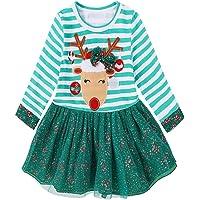 Sallydream- Invierno Fiesta Niños pequeños Bebés Niñas Vestido