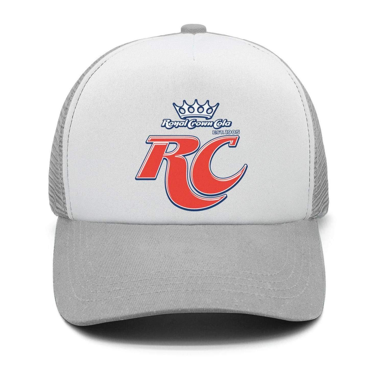 Adjustable Trucker Cap Mens Fashion Trucker Hat RC-Cola-Logo