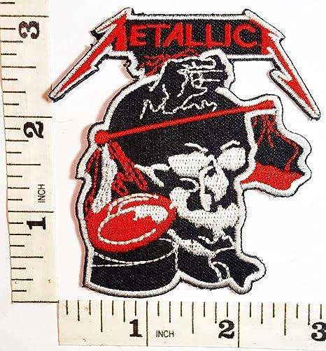 Calavera la Metallica American Heavy Metal banda de parche ...