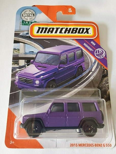 Matchbox 2020 /'15 Mercedes Benz G550 MBX HIGHWAY Case F