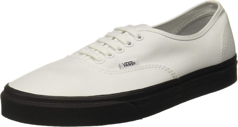 Vans Authentic Black Outsole True White