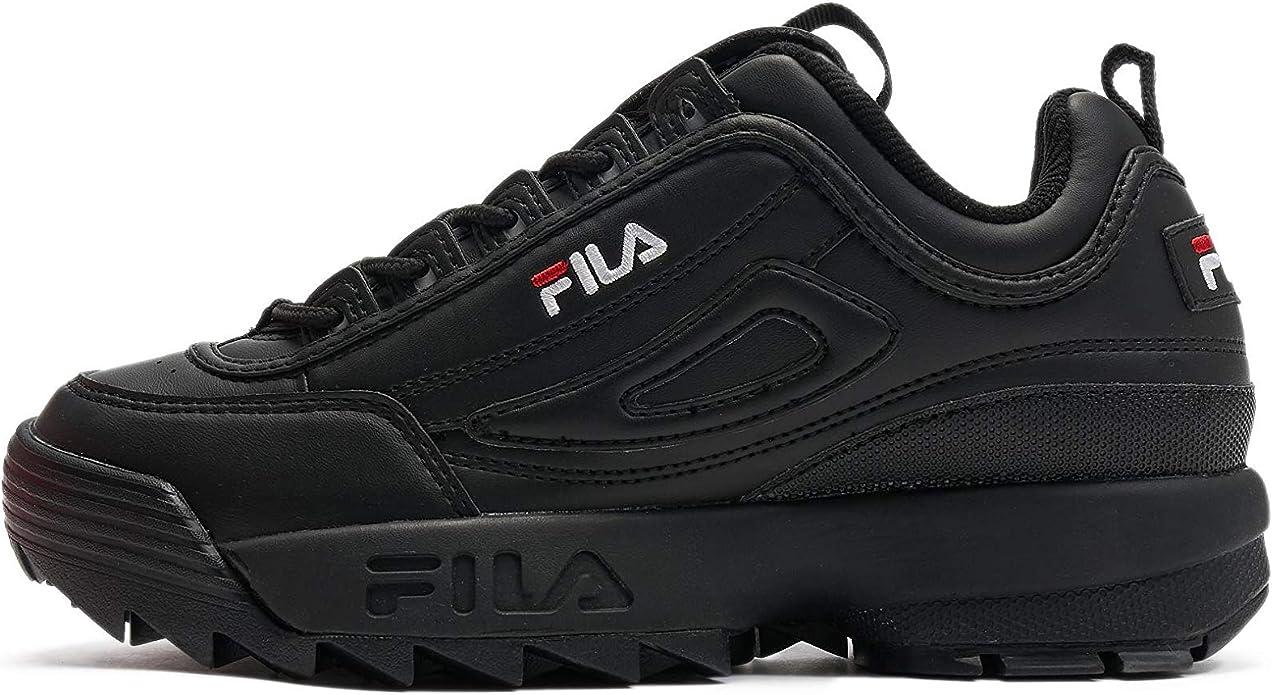 Fila Disruptor Sneaker Damen Schwarze Sohle Weiß