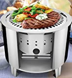 Lysport Stainless Steel Outdoor Camping Stove Grills Set