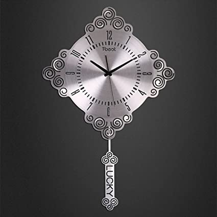 Jack Mall- 20 pulgadas de nudo chino Sala de estar decorado reloj de pared Moderno