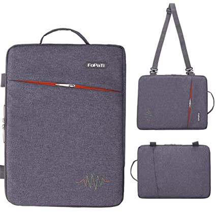 5e181fee0de5 FOPATI 11 - 11.6 Inch Laptop Sleeve Vertical Slipcase Shoulder Bag  Messenger Case for Apple Macbook