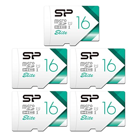 Amazon.com: Silicon Power 16 GB x 5 Elite tarjeta de memoria ...