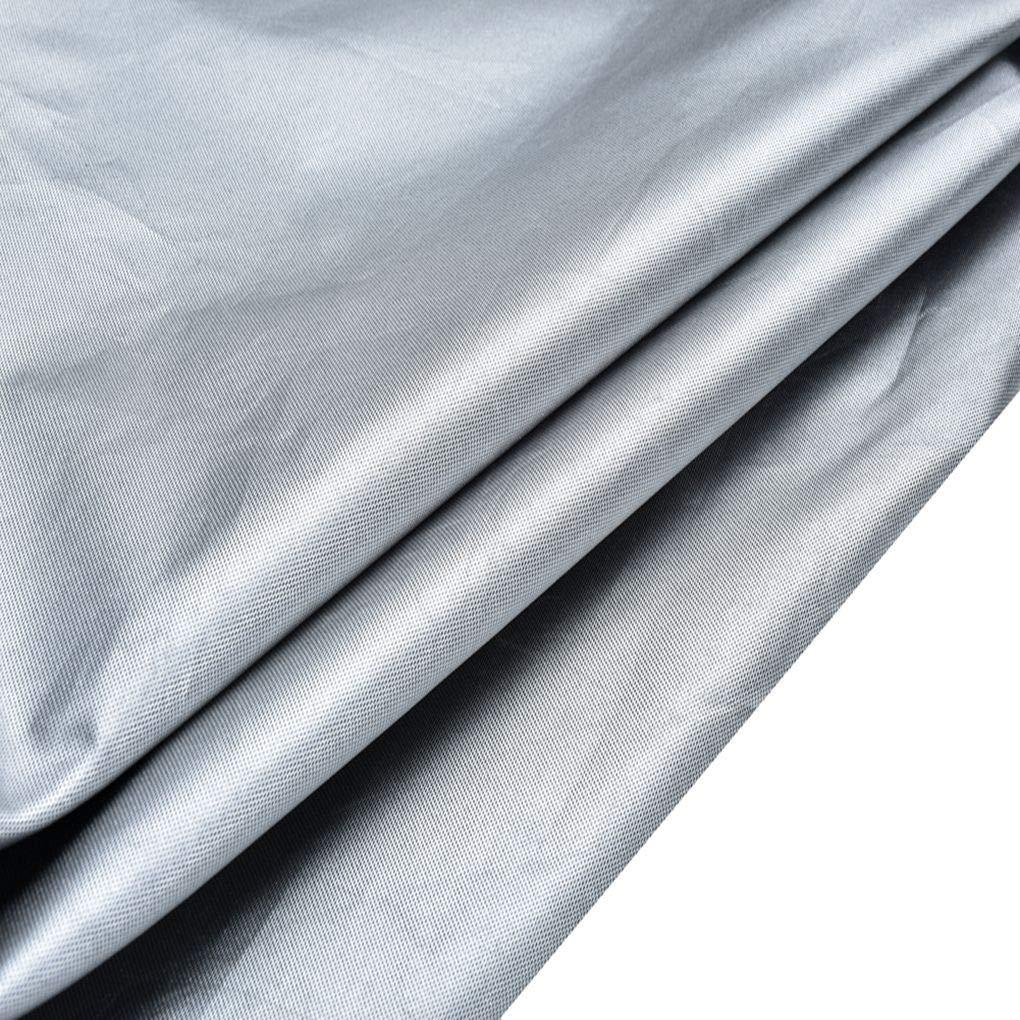 Luckiests 210D Oxford Cloth wasserdichte staubdichte Au/ßen Gartenhof Heizpilz Abdeckung Zipper Staub Sheild