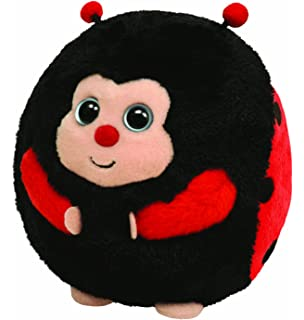 Ty Beanie Ballz Dots - Lady Bug