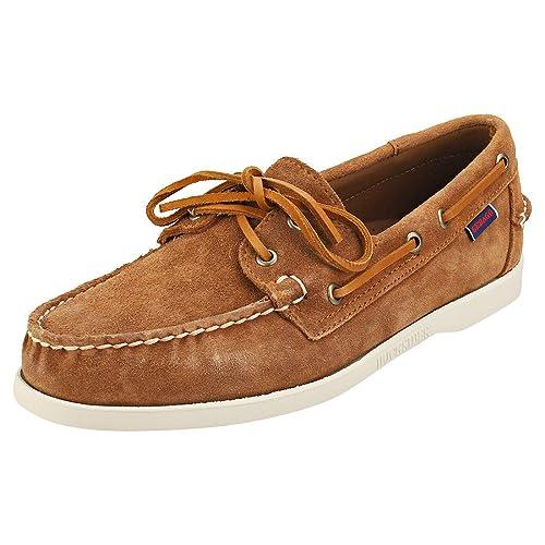 billigt pris fabrikspris 2018 skor Sebago Men's Docksides Portland Suede Boat Shoes: Amazon.co.uk ...