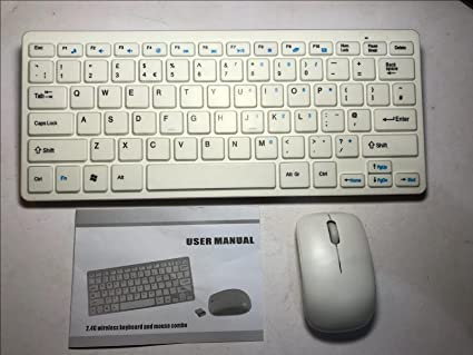 d6151104c74 Image Unavailable. Image not available for. Colour: Wireless MINI Keyboard  & Mouse for Samsung 7000 Series 7 Smart TV