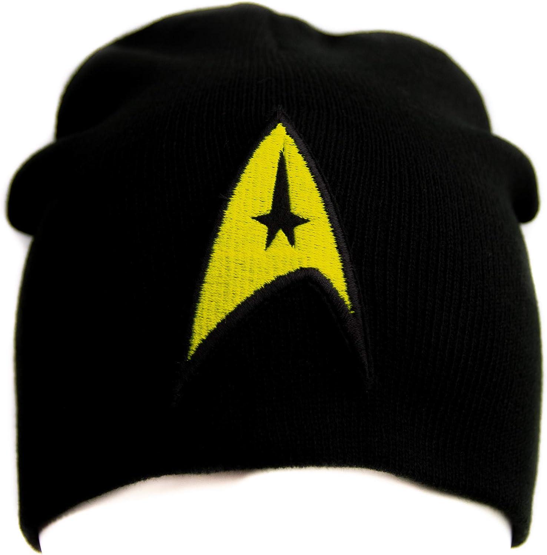 STAR TREK STARFLEET UNITED FEDERATION OF PLANETS KNITTED HAT