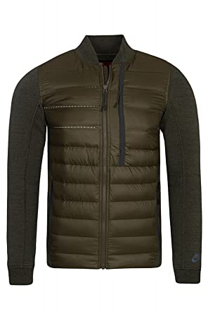 269450fb1e8c Nike Aeroloft Tech Fleece Bomber Jacket Men s Winter Coat 678267-329 RRR  £180 (