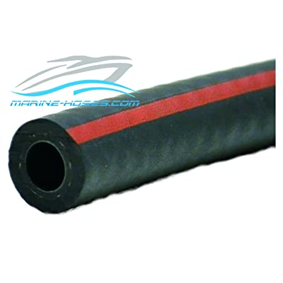 "A1 Fuel Line 1/4"" A1 Low Permeation Marine Fuel Feed Hose Unaflex by the foot: Sports & Outdoors"