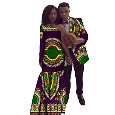 Afrikanische Ankara Top + Dame Kleid Kleidung Dashiki Paar für ...