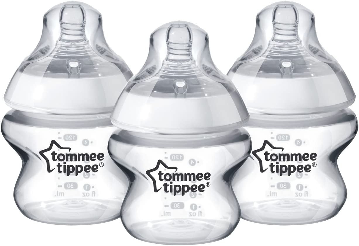 5 Ounce 4 Count Tommee Tippee Closer to Nature Bottles