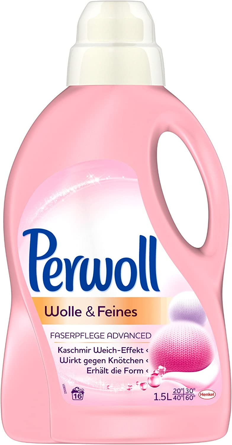 Perwoll for Wool & Delicates 1.5 L Bottle by Perwoll
