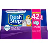 Fresh Step Multi-Cat Extra Strength Scented Clumping Cat Litter with The Power of Febreze, 42 lbs., .33 CF1