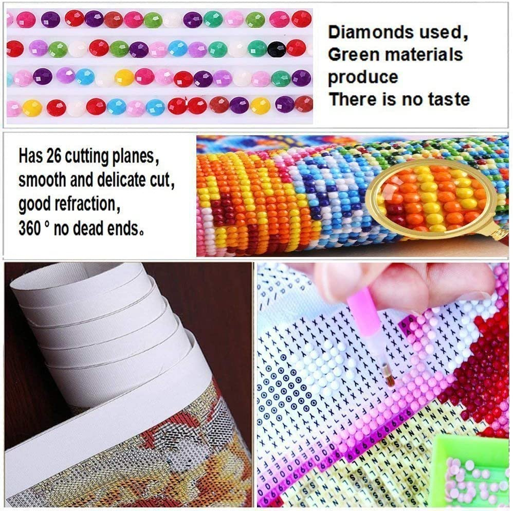 11.8x15.8inch JXSM 5D DIY Full round drill diamond painting cross stitch clown joker home decoration full rhinestones mosaic inlaid embroidery
