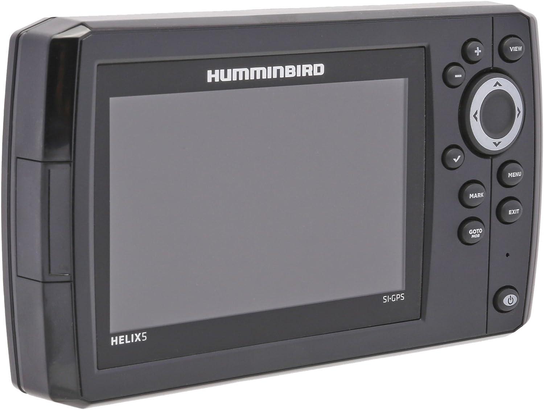 Humminbird Helix 5 x SI Side Imaging GPS Echolot Combo montaje ...