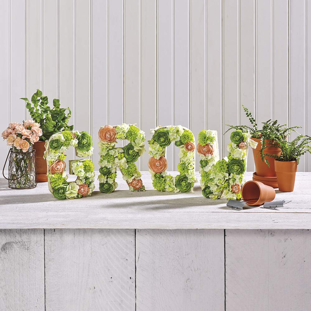 FloraCraft Floral Dry Foam 6 Piece Brick 2.6 Inch x 3.5 Inch x 7.8 Inch Green Twо Pаck