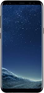 Samsung Galaxy S8+, 64GB, Midnight Black - For AT&T / T-Mobile (Renewed)