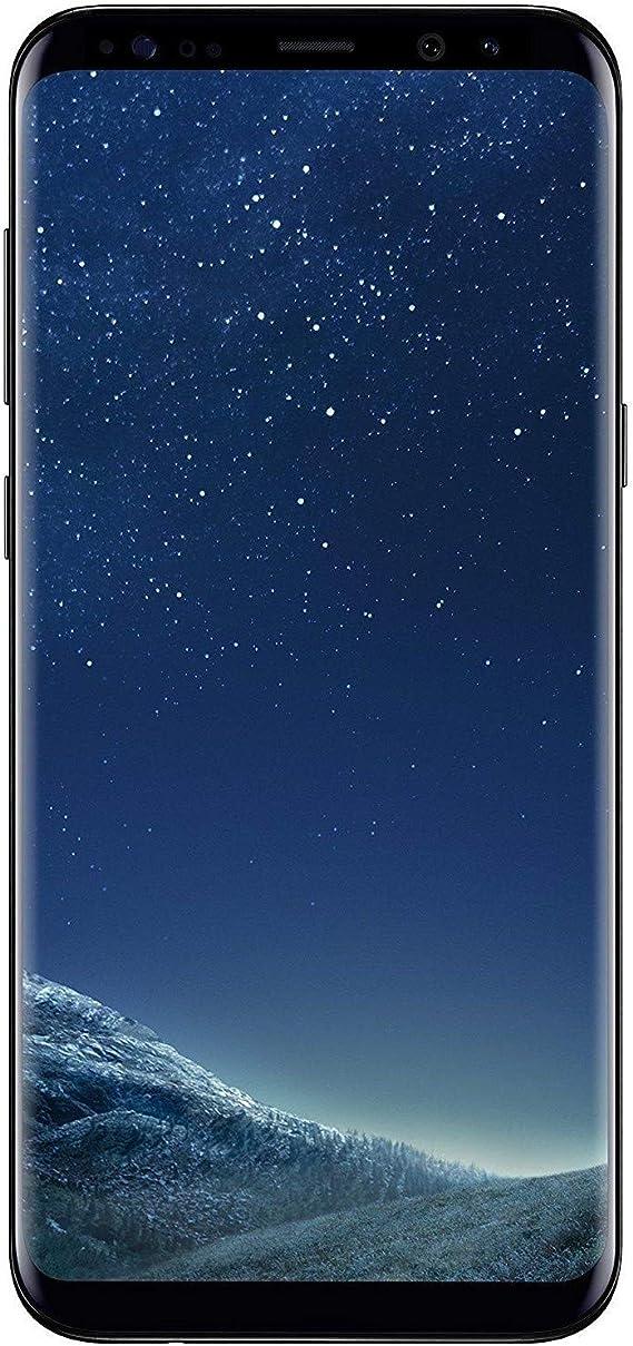samsung galaxy s8 64gb midnight black fully unlocked renewed