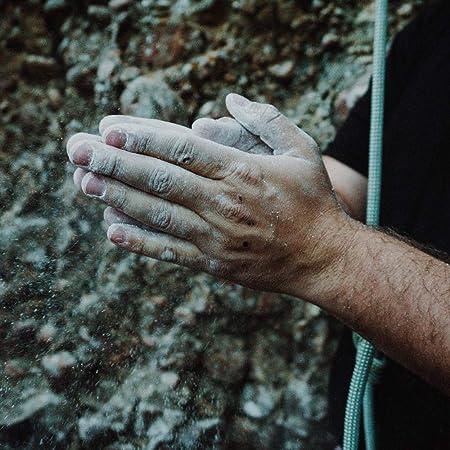 Igoera 4 en 1 Magnesera para Escalada y Boulder: la Bolsa Magnesio es de un Material Muy Resistente, Impermeable y con un Sellado Perfecto Para Que el ...