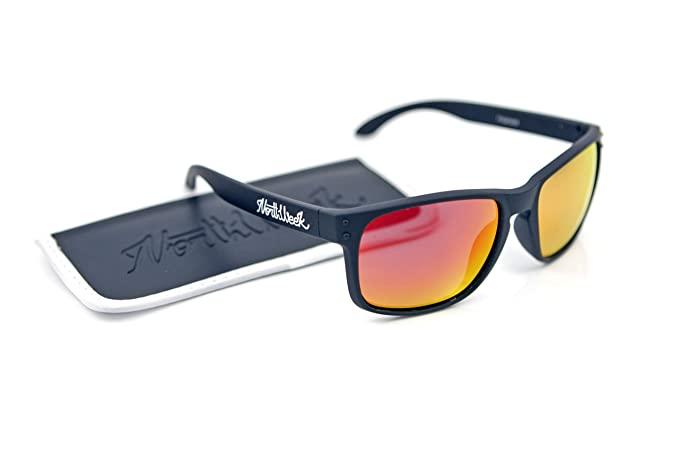 Gafas Sol Sunglasses Northweek Bold MATTE Black Red ...