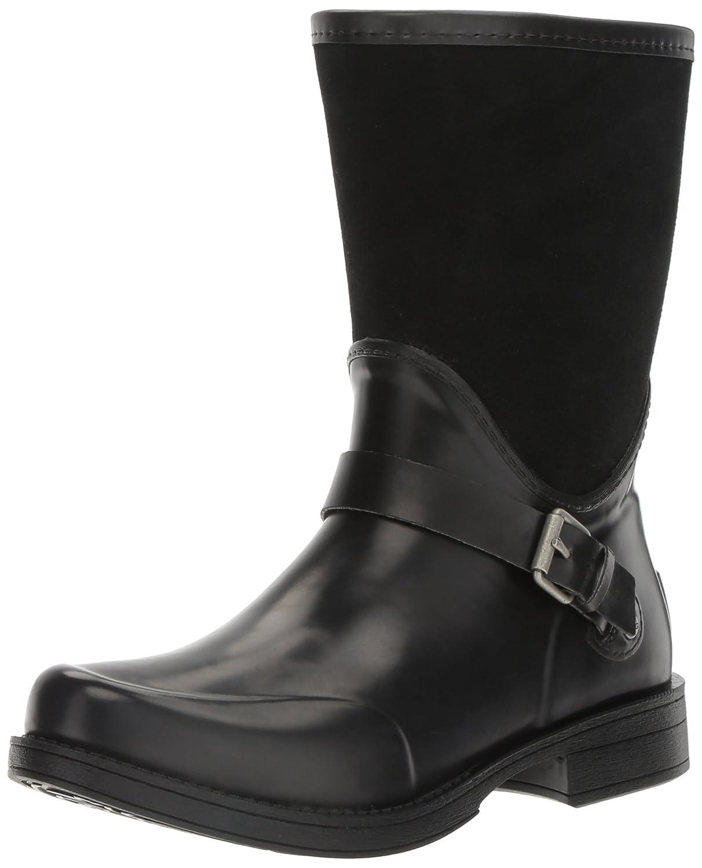 ce7136e6a26 UGG Women's Sivada Rain Boot, Black, 7 B US: Amazon.co.uk: Shoes & Bags