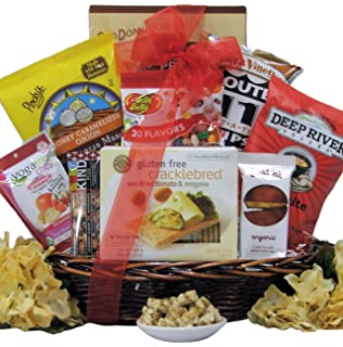 Amazon gluten free gift basket gourmet snacks and hors great arrivals gluten free gourmet gift basket negle Image collections