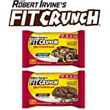 FIT Crunch Protein Brownies | Designed by Chef Robert Irvine | World's Best Protein Brownie | 190 Calories, 15g of Protein & Soft Brownie Texture (12 Count, Variety Pack)