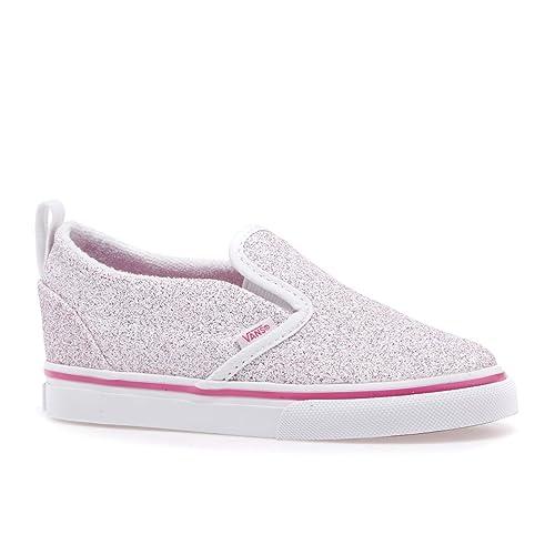 Amazon Com Vans Kids Baby Girl S Slip On V Toddler Shoes