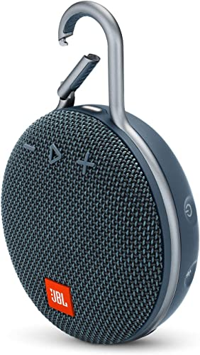 JBL Clip 3 Portable Waterproof Wireless Bluetooth Speaker – Blue