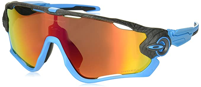 7978b4e763 Oakley Men s Jawbreaker Non-Polarized Iridium Rectangular Sunglasses ...