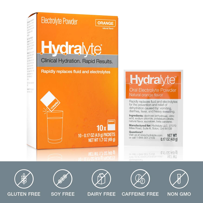 Amazon.com: Hydralyte – Polvo electrolito oral, fórmula de ...