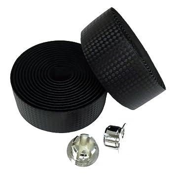 kingou black carbon fiber pu leather road bike handlebar tape bar tapes 2pcs per set carbon fiber tape furniture