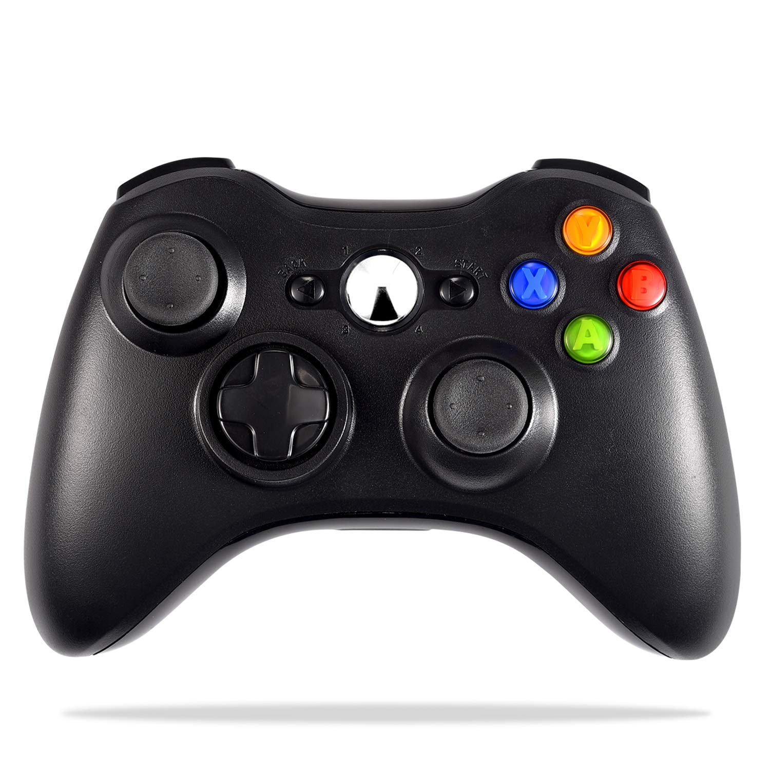 Wireless Controller For Xbox 360 Astarry 2 4ghz Game Controller Gamepad Joystick For Xbox Slim 360 Pc Windows 7 8 10 Black
