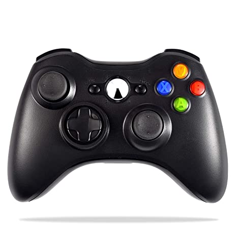 Wireless Controller For Xbox 360 Astarry 24ghz Game Controller Gamepad Joystick For Xbox Slim 360 Pc Windows 7 8 10 Black