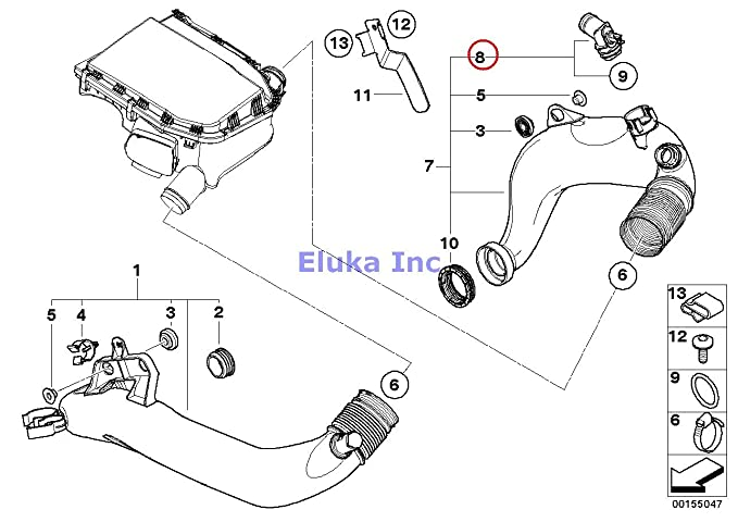 bmw z4 fuel filter location best place to find wiring and BMW E46 Wiring Harness Diagram amazon bmw genuine fuel system intake muffler air duct heater element 535i 535xi 535xi x6 35ix 135i m coup 135i z4 35i z4 35is 335i 335xi 335i 335xi