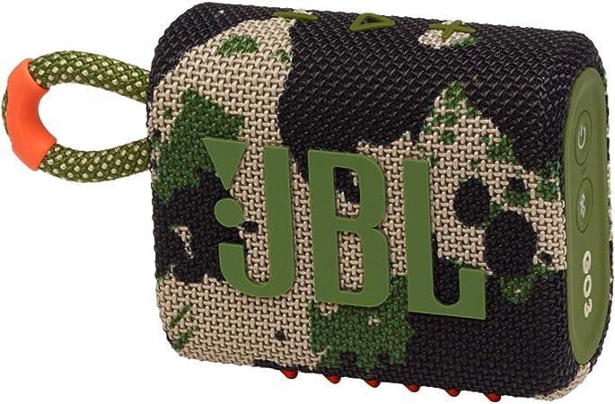 Jbl Go 3 Kleine Bluetooth Box In Camouflage Wasserfester Tragbarer Lautsprecher Für Unterwegs Bis Zu 5h Wiedergabezeit Mit Nur Einer Akkuladung Audio Hifi