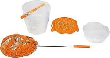 Fisch Eimer Set mit Mini Kescher | günstig kaufen | Idena