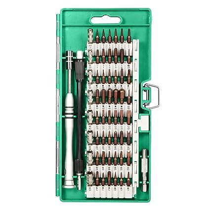Destornillador Bit establece 58 en 1 kit de reparación de apertura Herramientas destornillador de precisión para teléfono celular, Tablet, PC, ...
