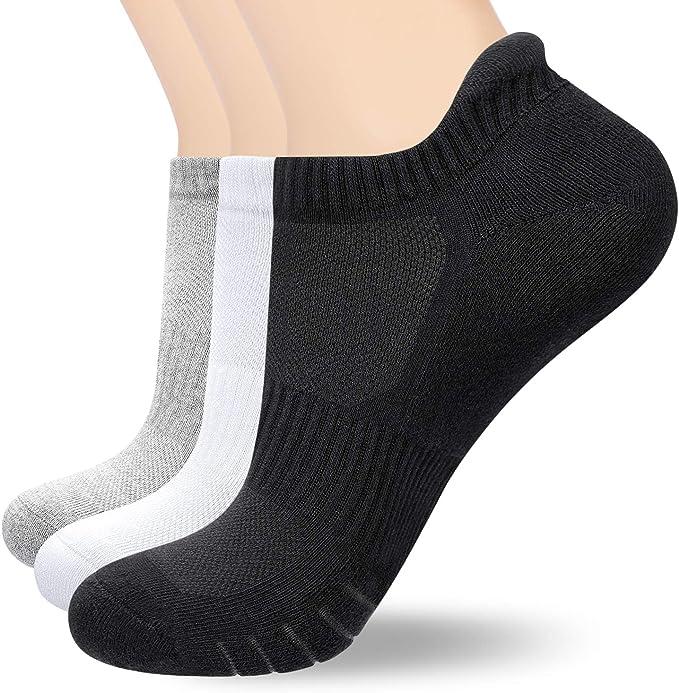 3  Paar Sneaker Socken Kurzsocken Füßlinge Damen  Baumwolle 35-38