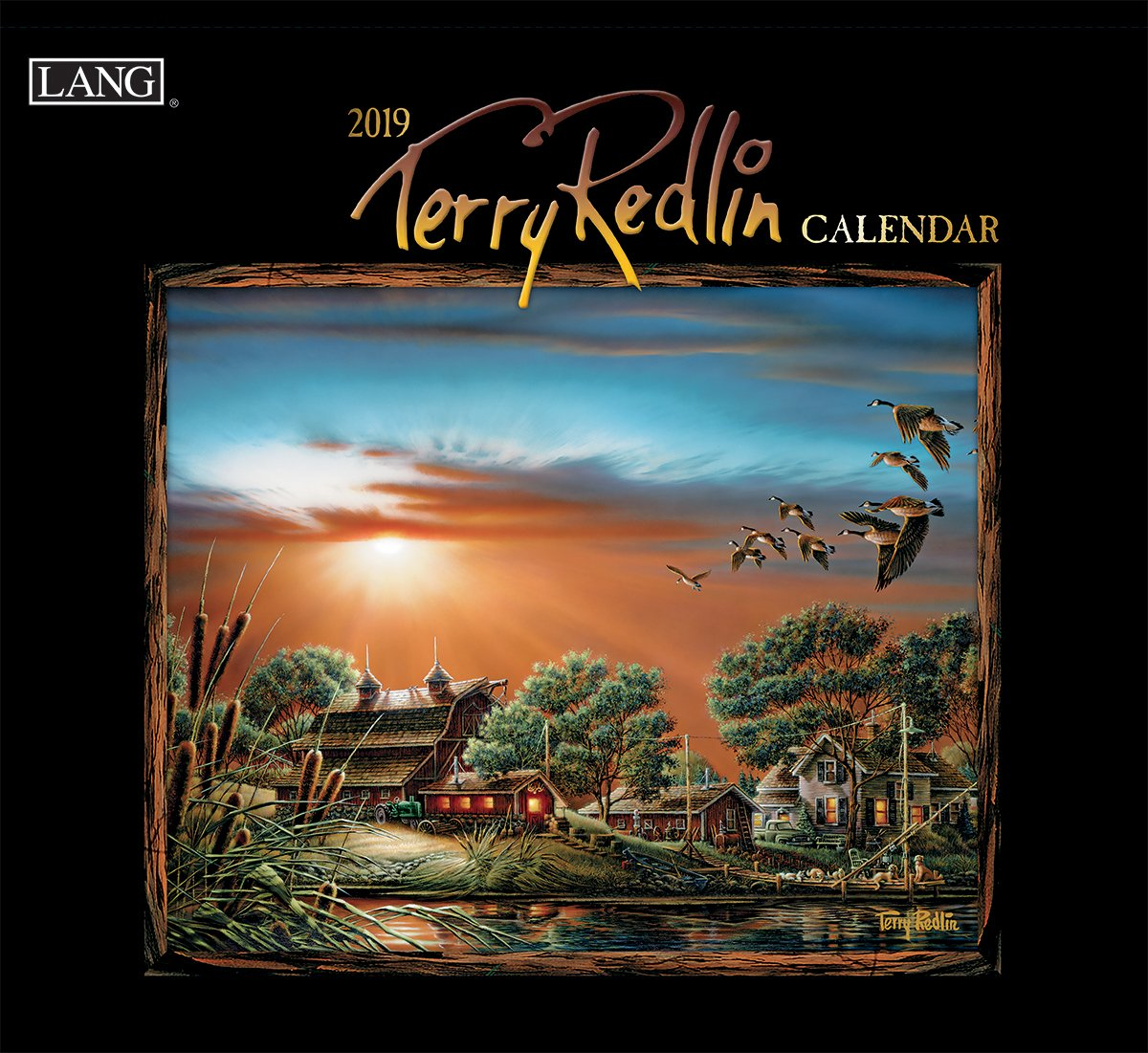 The Lang Companies Terry Redlin 2019 Wall Calendar (19991001995)