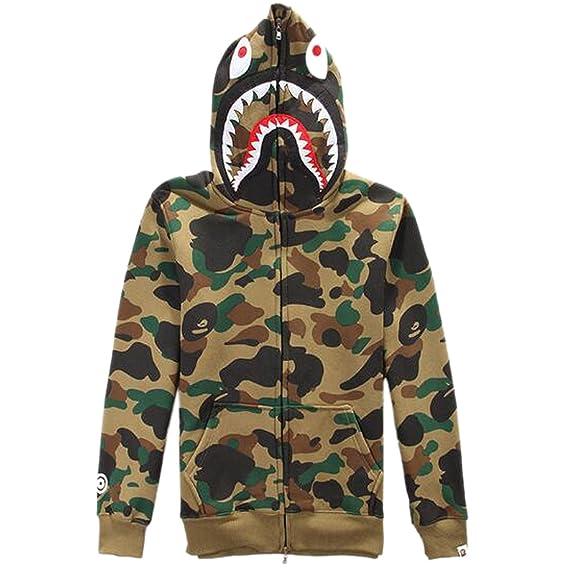 58f049aac226 ETASSO Mens Hooded Full Zip Top UTP Hoodie Military Combat Army Camo Jacket  Sweatshirt Hooded Top  Amazon.co.uk  Clothing
