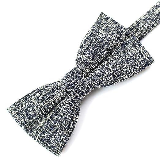 ZhiGe Pajarita,Traje Accesorios Corbata de moño 6 cm * 12 cm ...