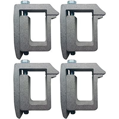 Tite-Lok TL1 Truck Cap Topper Mounting Clamp (4 Pack): Automotive