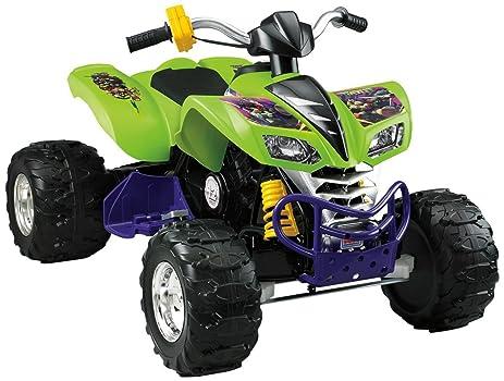 NEW Kids Ride-on Toy Power Wheels BCK8 Teenage Mutant Ninja Turtles Kawasaki KFX