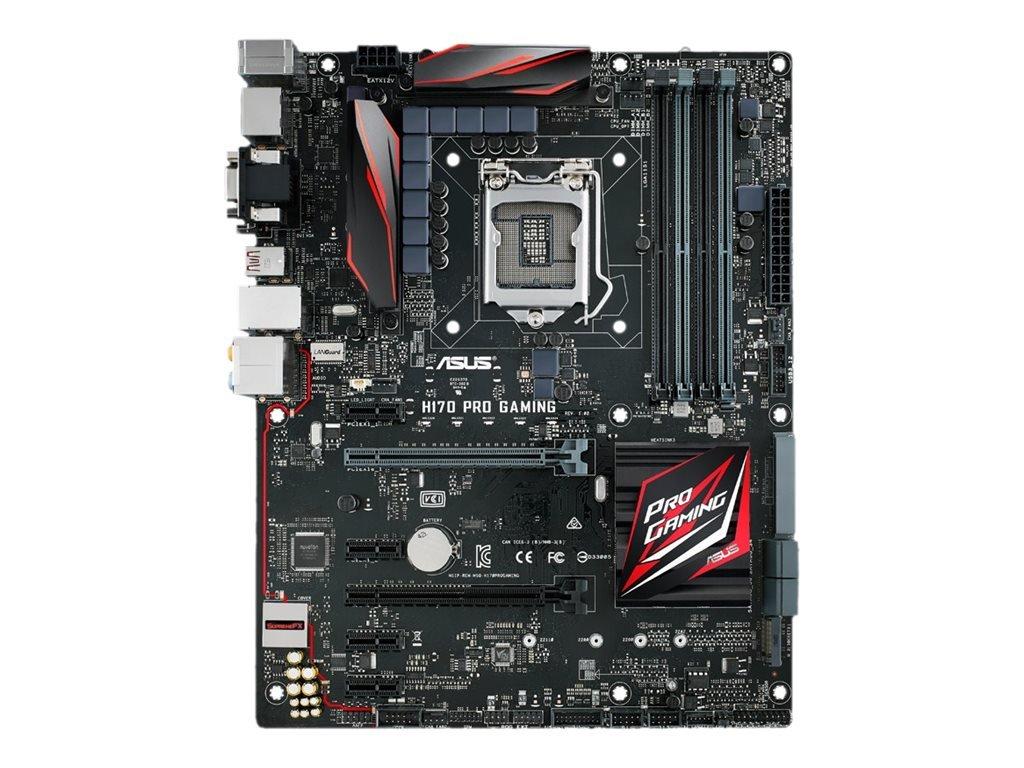 ASUS LGA1151 DDR4 DisplayPort HDMI SATA 6Gb/s USB 3.1 H170 ATX Motherboards H170 PRO Gaming